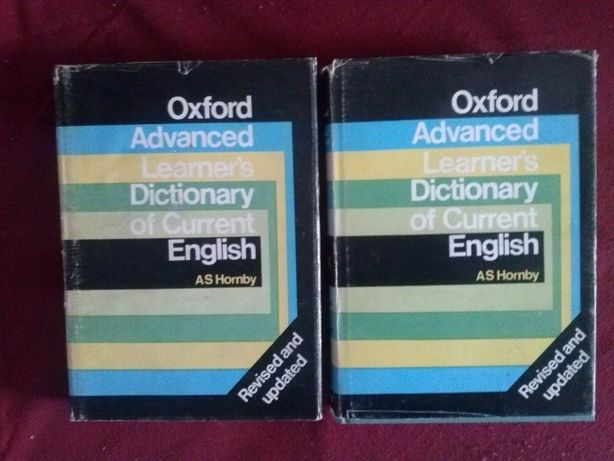 """Oxford Advanced learner""""s Dictionary of Current English,Hornby"""