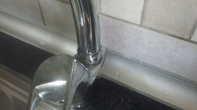 (Montagem)Torneira misturadora cozinha ou casa de banho
