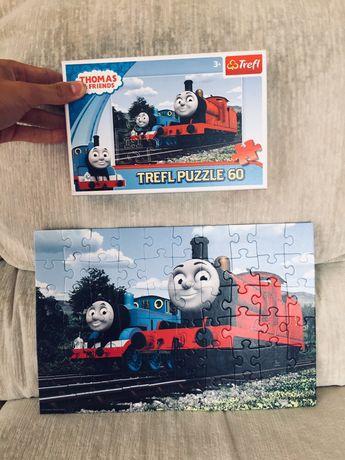 Puzzle - Tomek i Przyjaciele, nowe, pociągi (kolekcja, zestaw, box)