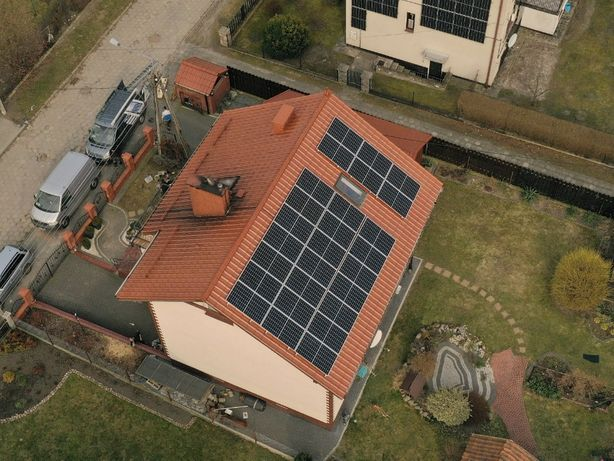 Fotowoltaika 6,23 kWp, ZESTAW, instalacja , PV, panele RISEN