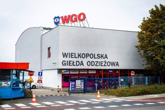 Box/Lokal Handlowy Wielkopolska Giełda Odzieżowa Poznań Wgo NAJEM