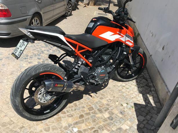 Vendo Ktm duke 125cc