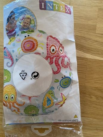 Новый детский надувной круг Intex