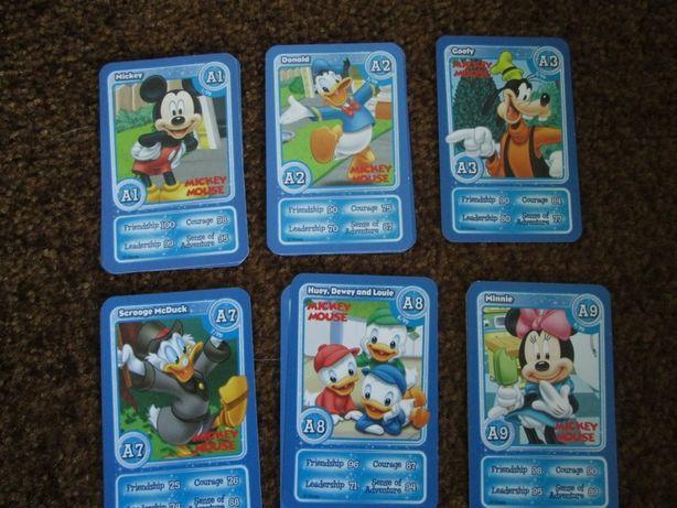 Карточки cards карты Disney Magical Moments 220 штук. Распродажа.