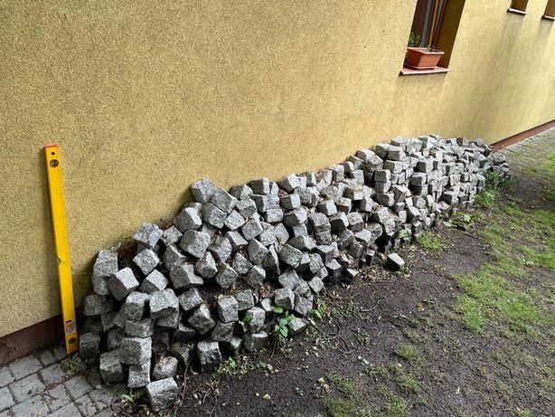 Kostka granitowa używana około 1,5m3 Łódź