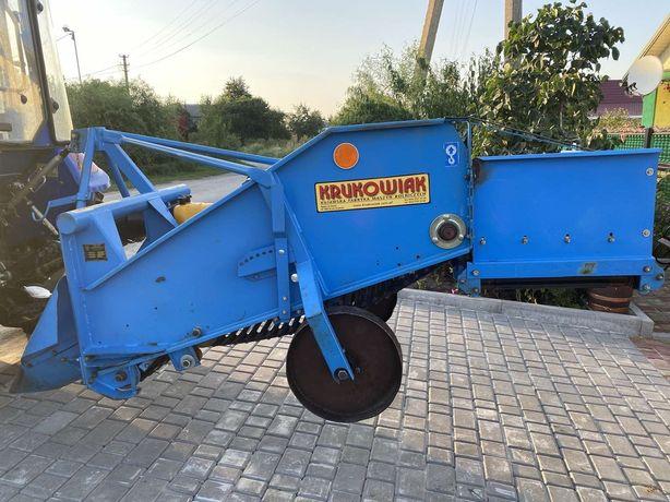 Картоплекопалка Krukowiak для трактора. Польська.