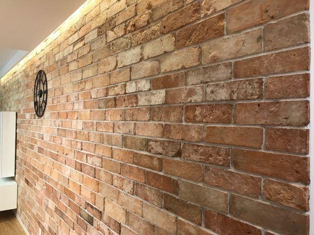 CENA za1/m2 Stara cegła rozbiórkowa lico cegły gotyckie płytki ceglane