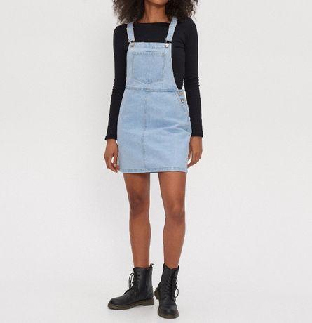 НОВА джинсова сукня-комбінезон