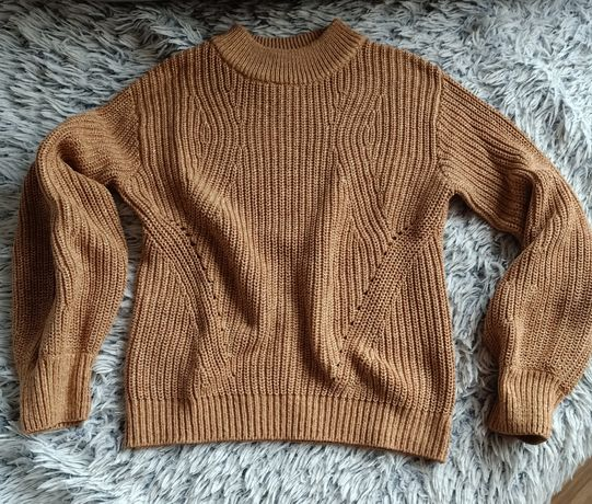 Sweterek beż H&M