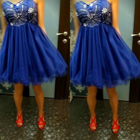 Выпускное платье выпускной випускное S-M 44 сукня нарядное вечерние