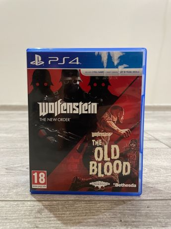 Wolfenstein The New Order PS4 + The Old Blood PS4