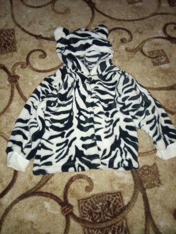 Костюмчик плюшевый зебра