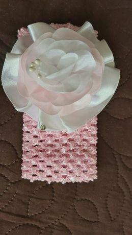 Резинка, повязка на голову на новорождённого, украшение, аксессуар