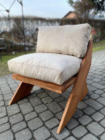 2 sztuki Siedzisko meble ogrodowe fotel