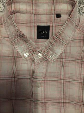 Camisa HUGO BOSS - L (Slim fit) Homem