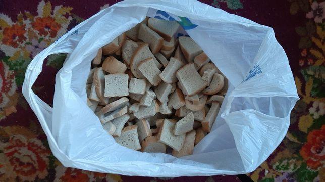 Сухари белого хлеба