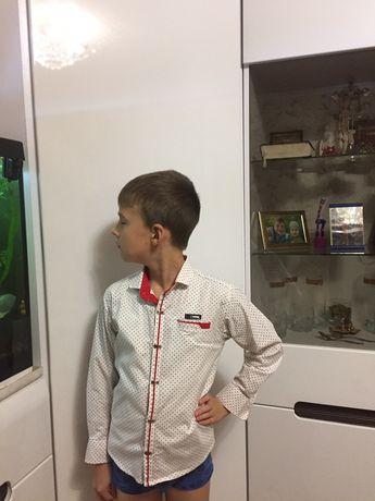 Праздничная рубашка. Мальчик. Рост 128