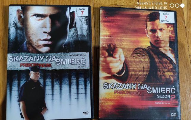 Film Serial DVD Prison Break Skazany Na Śmierć
