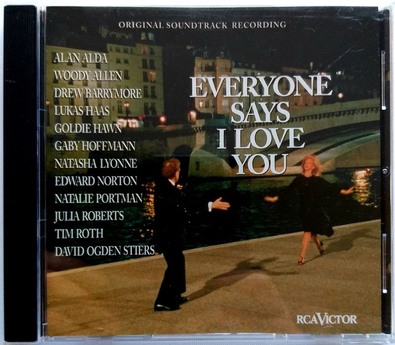 Soundtrack Everyone Says I Love You 1997r Stary Dwór - image 1