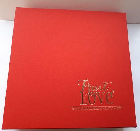 Упаковка для подарка, красная, коробок