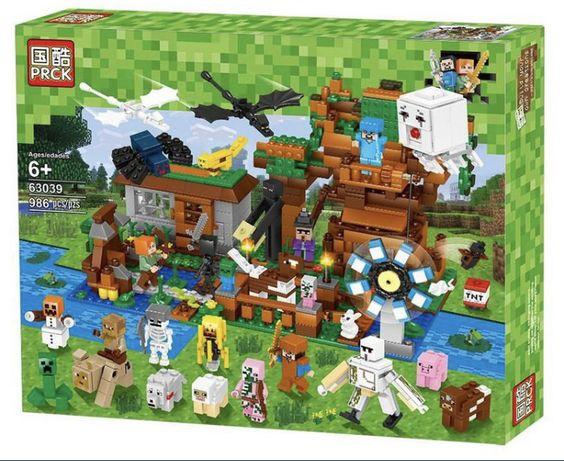 Конструктор Майнкрафт Большая компания Стива/63039 Minecraft My world