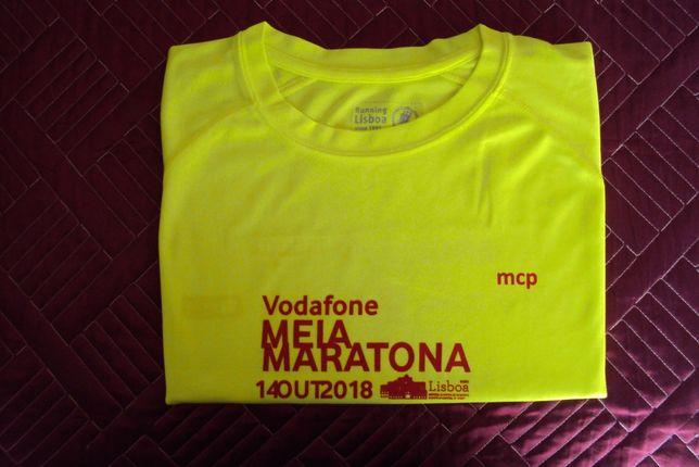 T'Shirt da Meia-Maratona de Lisboa