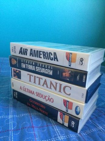 Filmes Cassetes VHS