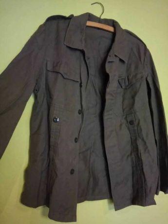 Kurtka cienka militarna wojskowa taktyczna żołnierska khaki vintage