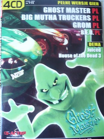 Ghost Master, Big Mutha Truckers, Grom, B.E.U. PL 4CD polskie wersje