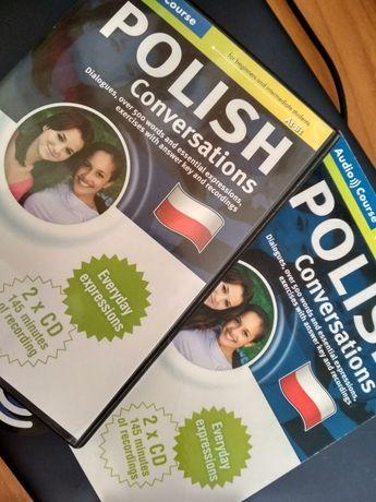 Polski Konwersacje Polish Conversation Książka + 2x CD Audio English