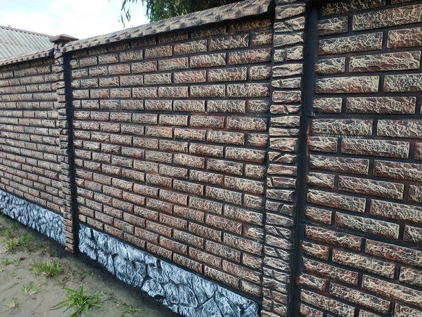 виготовлення бетонного забору