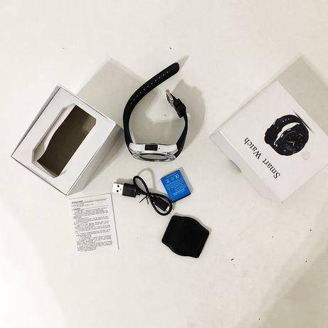Умные смарт-часы Smart Watch V8. Цвет: серебро