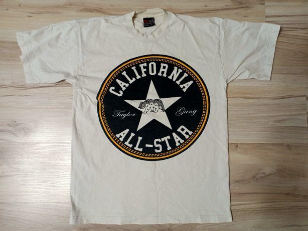 Pro tag California All-Star Taylor Gang Wiz Khalifa biały tshirt 6/10
