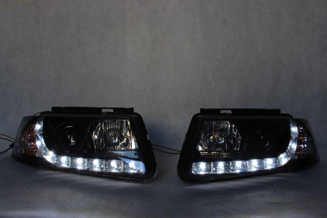Lampy reflektory przednie przód VW PASSAT B5 97-00 Dzienne LED DRL !