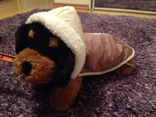 Zimowe ubranko dla psa 30 cm ZOLUX kożuszek