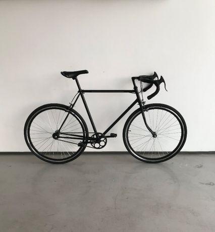 Nowy retro rower szosowy kolarzówka z wolnobiegiem kolarka brooks