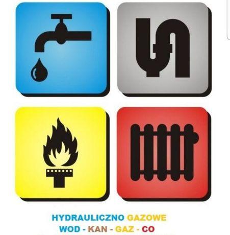 HYDRAULIK gaz projekty kocioł piec kotłownia