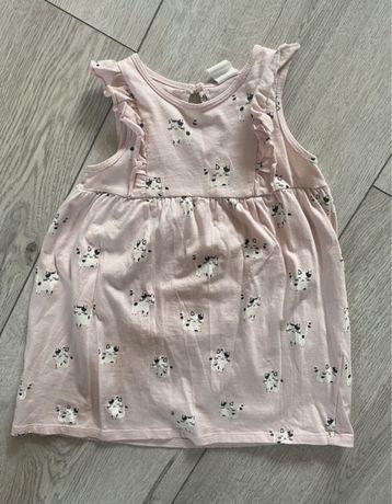 Sukienka w kotki 86 H&M