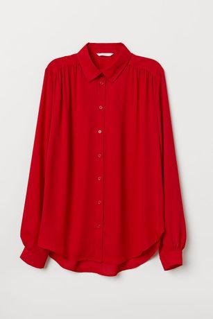 NOWA czerwona koszula H&M rozmiar XS