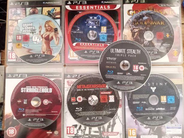 Jogos Playstation 3 ( God of War 3, Metal Gear Solid 4, GTA V, ... )