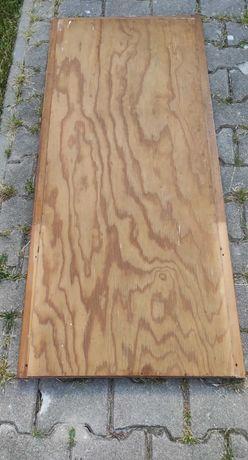 Stare Duże Lustro Drewniana Rama 140x62 Retro Antyk PRL