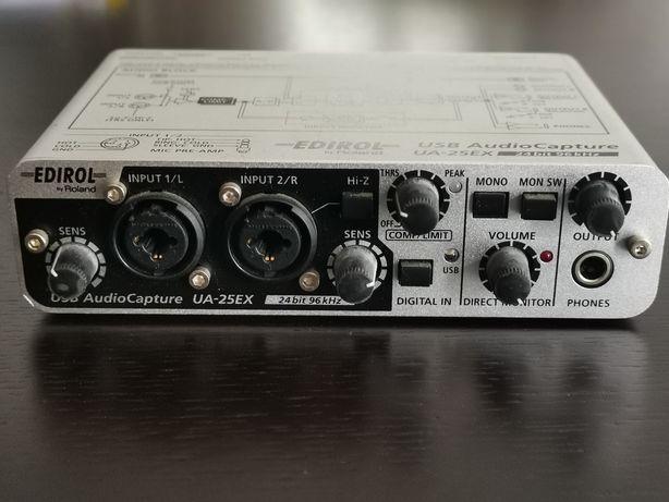 Interface de audio/midi Edirol 25EX (Roland)