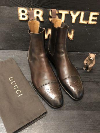 Gucci Ботинки Челси 42 Santoni Vuitton