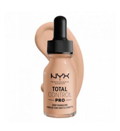 NYX Тоналка, тональная основа total control pro, natural