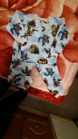 Пижамка плюшевая