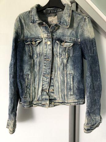 Katana jeansowa stan idealny rozmiar 40 L