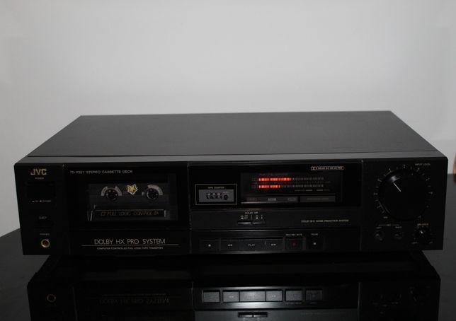 JVC TD-X321 Magnetofon deck stereo hi-fi klasyk vintage Wysyłka