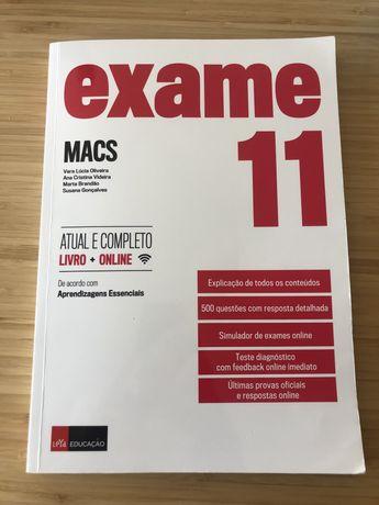Livro Exame Prova Final - MACS 11º Ano