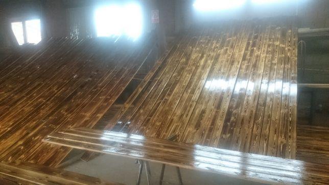 Stara deska ściana deski drewno stare drewno panele boazeria malowana