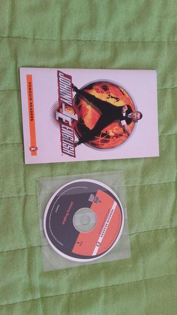 Livro mais cd Johnny English